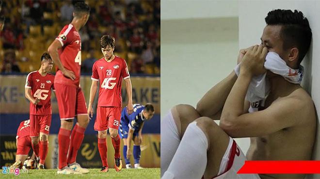"""Nhìn Viettel khổ sở tại V-League, Quế Ngọc Hải ân hận vì quá nóng nẩy trong tình huống """"đạp"""" Văn Kiên"""