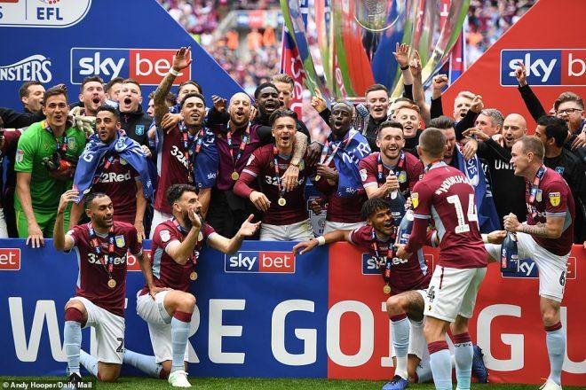 Kết quả Aston Villa vs Derby County: Siêu kịch tính tới phút 90+7, nghẹt thở lên hạng