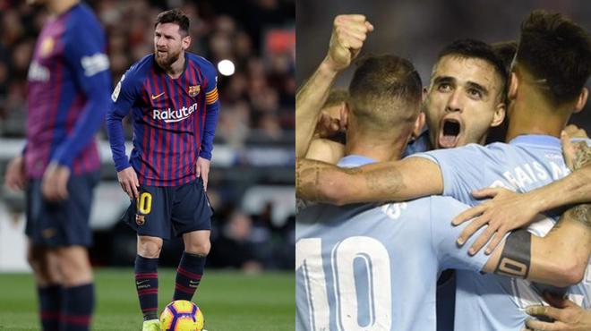 Cất Messi trên băng ghế dự bị, Barca nhận cái kết bi th.ảm trên sân của Celta Vigo