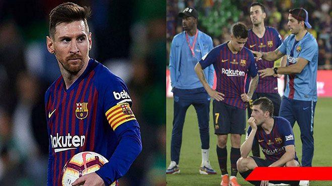 Chìm sâu trong thất vọng, Messi vạch mặt 6 cái tên sẽ phải cuốn gói khỏi Barca ngay lập tức