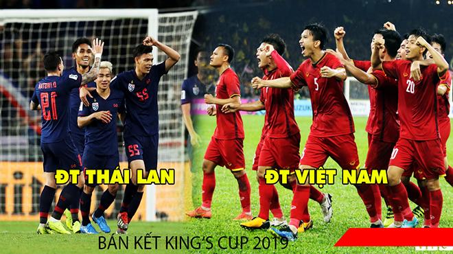 CHÍNH THỨC: Việt Nam đụng độ Thái Lan trận đầu tiên – siêu kinh điển Đông Nam Á tại King's Cup 2019