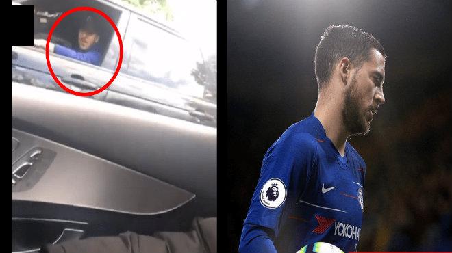 CĐV Chelsea cầu xin Hazard ở lại đội bóng, Anh không trả lời mà chỉ phản ứng thế này đây!