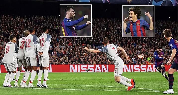 Messi lập cú đúp thần thánh, Barca vùi dập Liverpool ngay tại thánh địa Nou Camp, đặt một chân vào chung kết