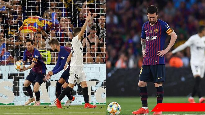 Chùm ảnh: Messi cúi đầu thất vọng trong ngày các đồng đội ở Barca khiến Quả Bóng Vàng đi xa tầm với của anh