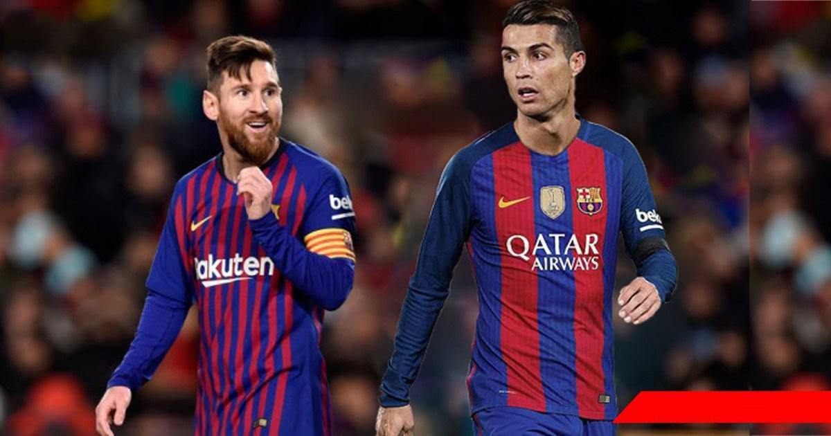CĐV Barca phấn khích trước cảnh tượng Ronaldo đá chung đội với Messi