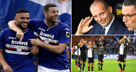 Kết quả Sampdoria vs Juventus: Thất bại nhạt nhòa, chia tay trong nỗi buồn