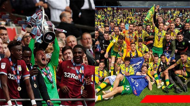 Xác định xong 3 đội bóng mới lên hạng Ngoại hạng Anh mùa tới, toàn là các đại gia 1 thời