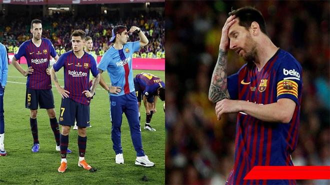 """Thất bại muối mặt, CĐV Barca tức giận trút cơn thịnh nộ: """"Tống cổ ngay 2 gã này đi. Thật vô dụng"""""""