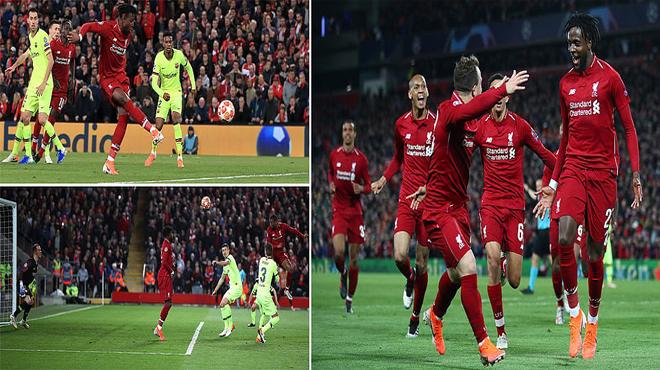ĐẠI ĐỊA CHẤN THẾ KỶ: Ngược dòng thần kỳ đè bẹp Barca ngay tại Anfield, Liverpool hiên ngang vào chung kết Champions League