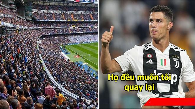 Lần đầu sau khi ra đi, Ronaldo gửi thông điệp báo hiệu ngày trở về đến Real Madrid