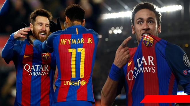 XONG XUÔI! Neymar đang trên đường trở về Nou Camp để ký hợp đồng 5 năm bất chấp mức lương bị giảm