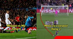 UEFA công bố 10 bàn thắng đẹp nhất Cúp C1: Được ca tụng lên giời, siêu phẩm của Messi vẫn ngậm ngùi xếp sau Cr7