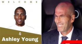 Trang chủ Real Madrid thông báo chính thức chiêu mộ thành công Ashley Young từ MU