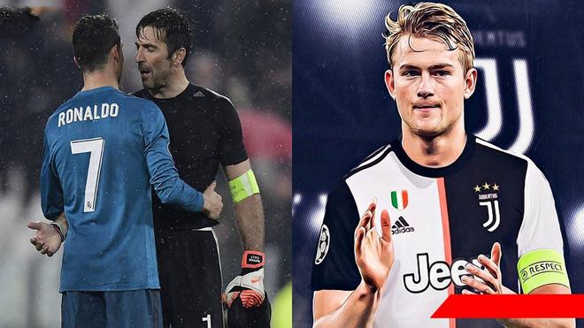 Nghe tin De Ligt cập bến, Buffon cũng quyết định trở lại Juventus để sát cánh cùng Ronaldo chinh phục mọi danh hiệu