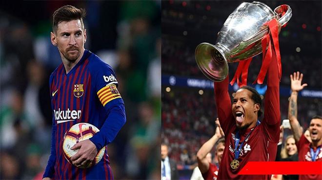 """Vô địch Champions League, Van Dijk lên giọng thách thức: """"Tôi không ngại giành QBV với Messi"""""""