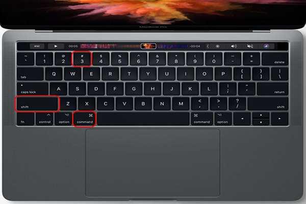 Chụp toàn bộ màn hình máy tính Mac