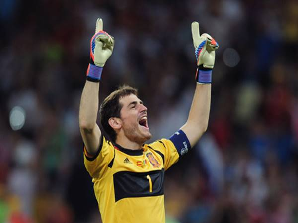 Thủ thành Iker Casillas thuộc top các thủ môn huyền thoại xuất sắc nhất thế giới
