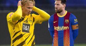 Bóng đá QT 20/4: Messi chặn đường đến Barca của Haaland