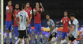 Bóng đá Quốc tế chiều 15/6: Argentina không thể thắng Chile