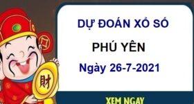 Dự đoán XSPY ngày 26/7/2021 chốt lô số đẹp đài Phú Yên