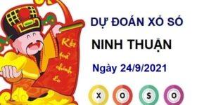 Dự đoán xổ số Ninh Thuận ngày 24/9/2021 hôm nay thứ 6