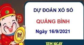 Dự đoán XSQB ngày 16/9/2021 chốt số Quảng Bình thứ 5